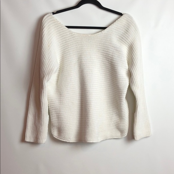 0ca14d3190 Vince White Cotton Thick Knit Sweater. M 5a8898985521bef07e5c16bf